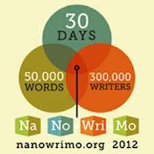 Nanowrimo every November!